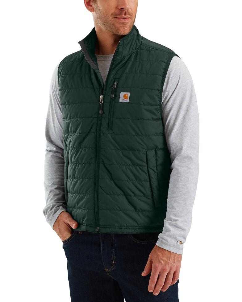 Carhartt Men's Gilliam Work Vest - Big & Tall , Green, hi-res