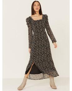Mikarose Women's Sequoia Dress, Black, hi-res