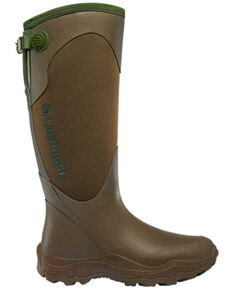 LaCrosse Women's Alpha Agility Waterproof Snake Boots - Round Toe, Brown, hi-res