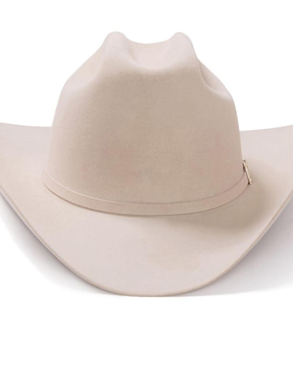 Stetson Men's El Patron Silverbelly Western Hat, Black, hi-res