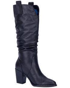Dingo Women's Black Cantina Western Boots - Round Toe, Black, hi-res