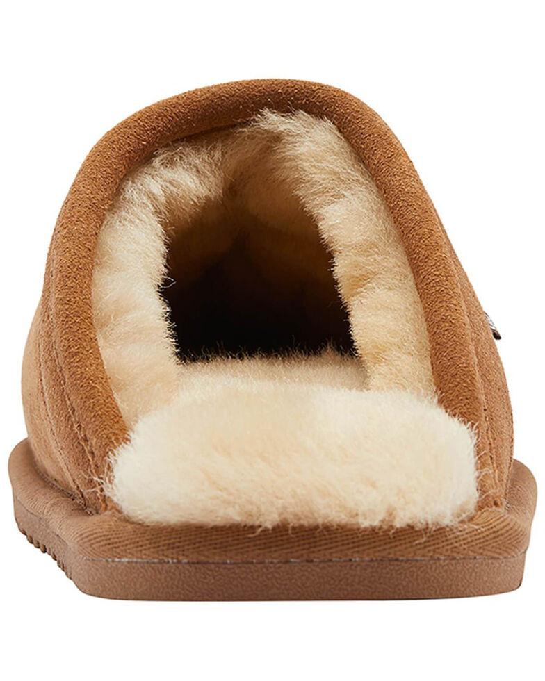 Lamo Footwear Men's Scuff Doubleface Slippers, Chestnut, hi-res