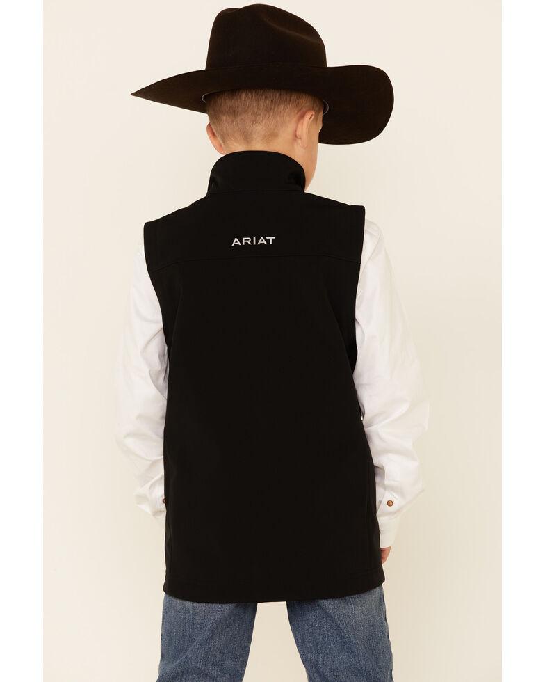 Ariat Boys' Vernon 2.0 Softshell Vest , Black, hi-res