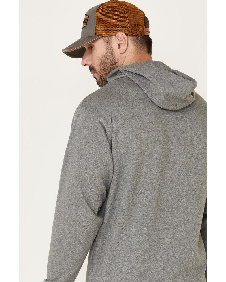 Brew City Beer Gear Men's Grey Coors Logo Graphic Hooded Sweatshirt , Grey, hi-res