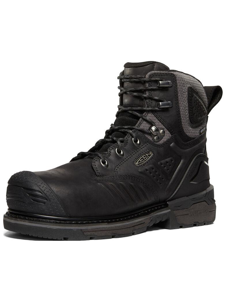 Keen Men's Philadelphia Waterproof Work Boots - Carbon Toe, Black, hi-res