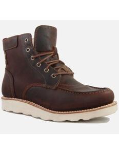 Superlamb Men's Dzo Work Boots - Soft Toe, Brown, hi-res