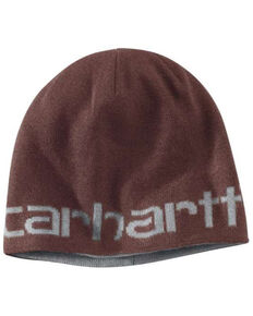 Carhartt Men's Greenfield Reversible Beanie, Tan, hi-res