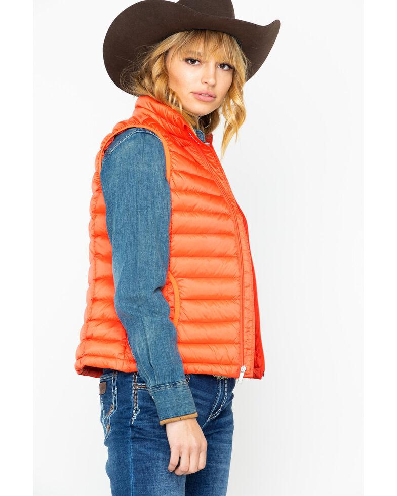 Ariat Women's Ideal Down Vest, Coral, hi-res