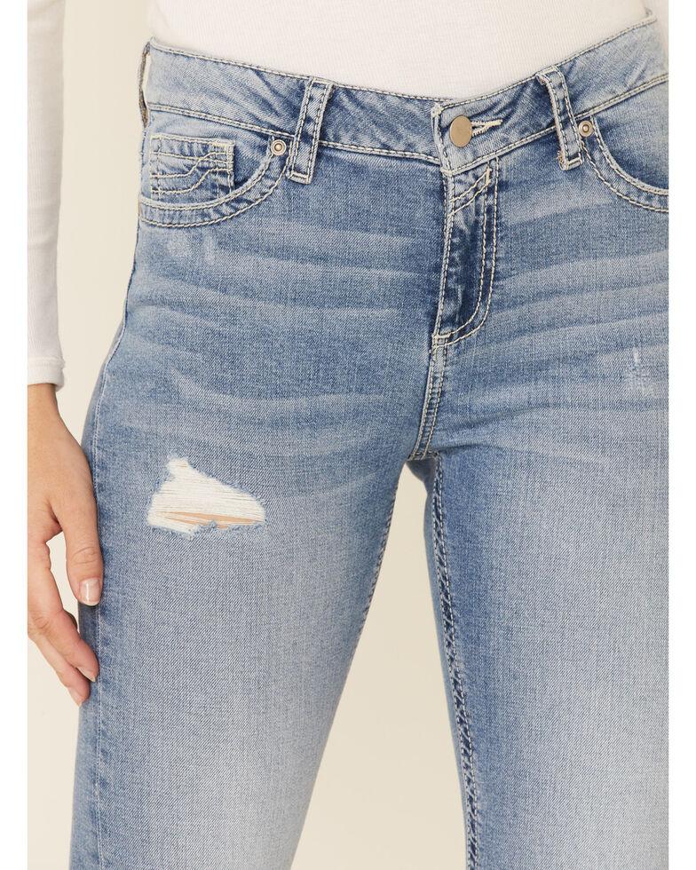 Sailey Women's Swish Bootcut Jeans, Blue, hi-res