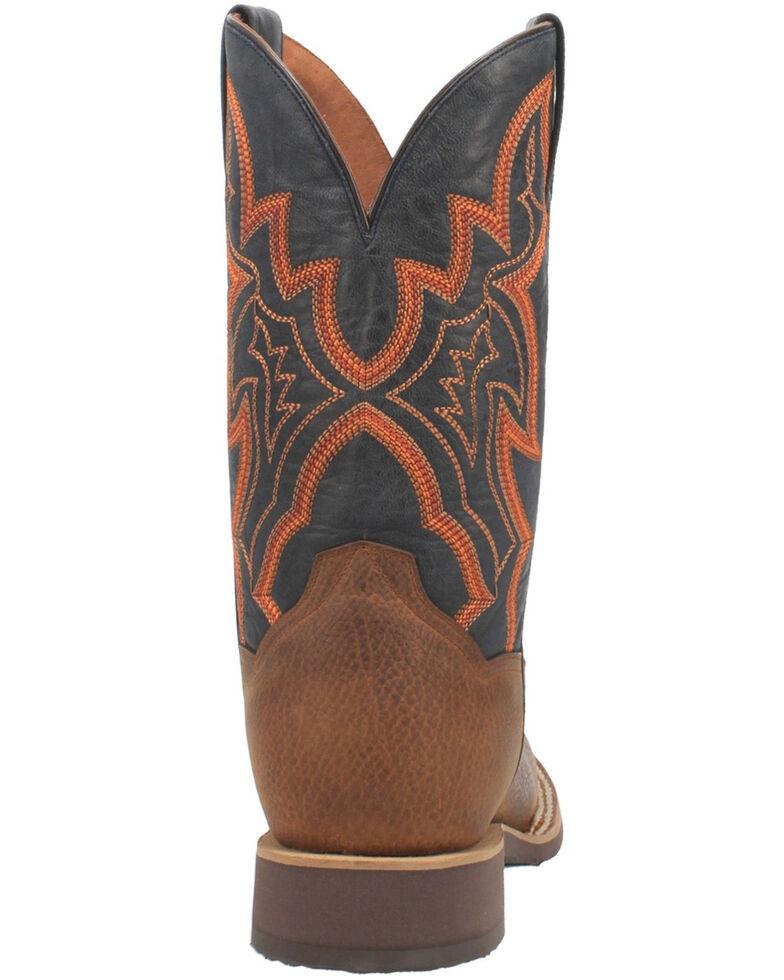 Dan Post Men's Draven Western Boots - Wide Square Toe, Brown, hi-res