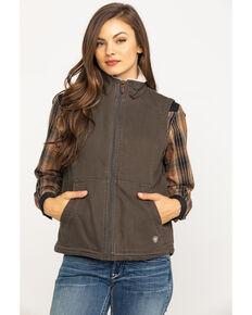 Ariat Women's R.E.A.L. Banyan Bark Outlaw Vest , Brown, hi-res