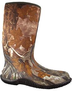Smoky Mountain Men's Camo Amphibian Rain Boots - Round Toe , Camouflage, hi-res