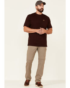 Wrangler ATG Men's All-Terrain Brindle Zip-Off Cargo Pants , Loden, hi-res
