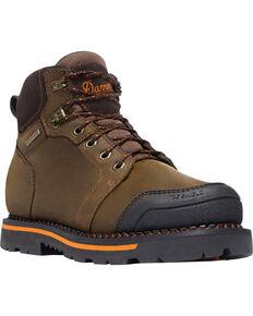 """Danner Men's Brown Trakwelt 6"""" Boots - Non-Metallic Toe , Brown, hi-res"""