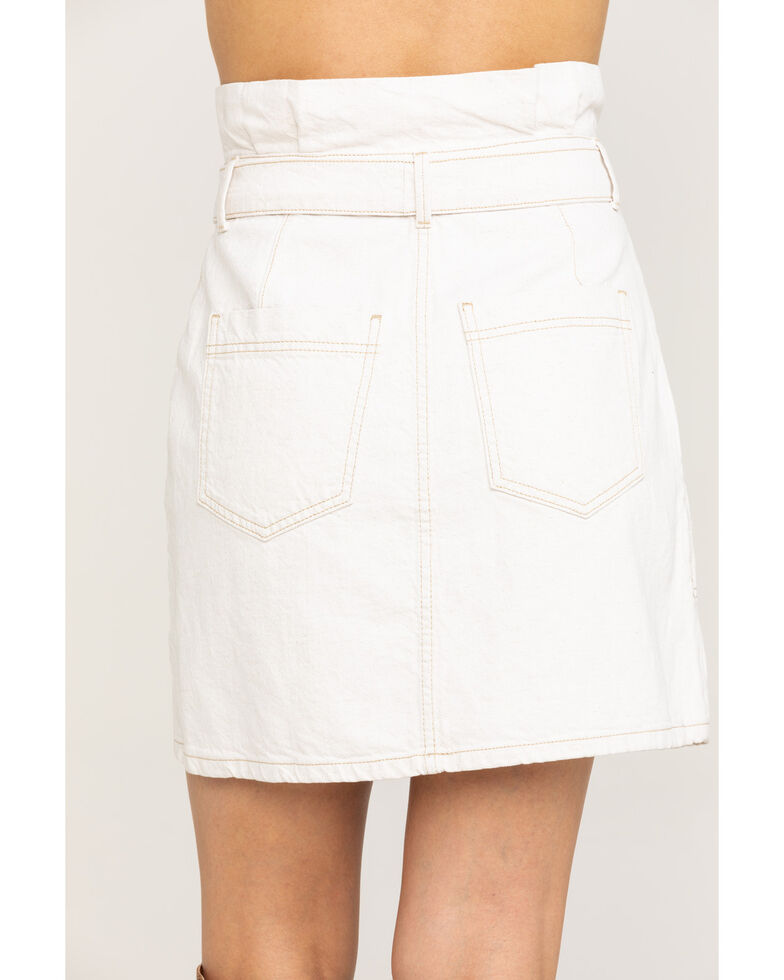 Free People Women's Splendor In The Grass Skirt, Natural, hi-res