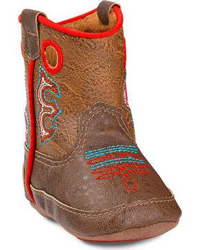 Double Barrel Infant Boys' Kolter Baby Bucker Boots, Brown, hi-res
