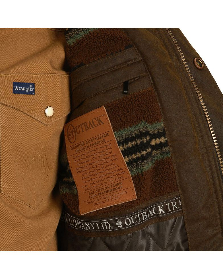 Outback Trading Co Oilskin Jacket Country Outfitter