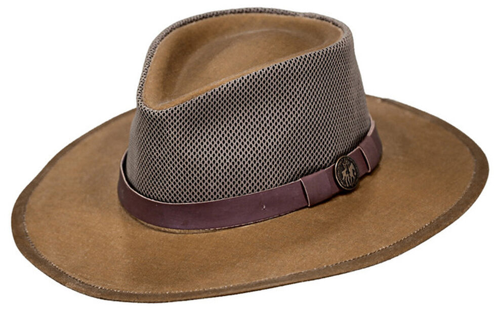 Outback Trading Co. Oilskin Kodiak with Mesh Hat - Country Outfitter 56e61f00953
