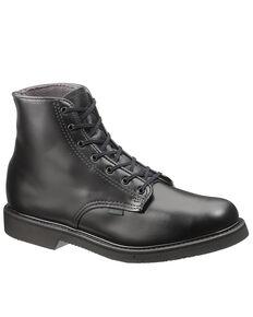 """Bates Men's 6"""" Chukka Work Boots - Soft Toe, Black, hi-res"""