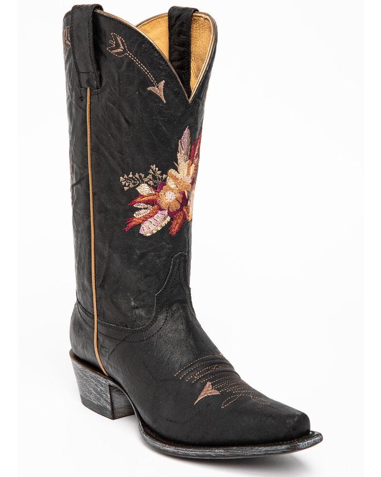 Shyanne Women's Maricopa Western Boots - Snip Toe, Black, hi-res