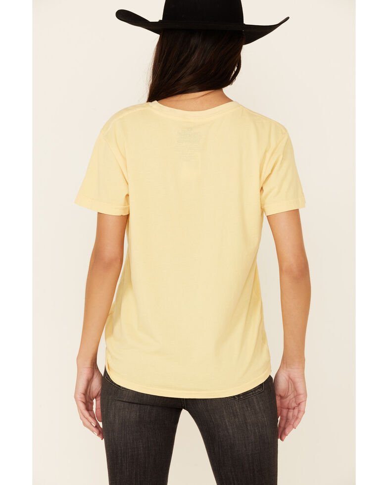 Goodie Two Sleeves Women's You Look Like I Need A Drink Graphic Short Sleeve Tee, Dark Yellow, hi-res