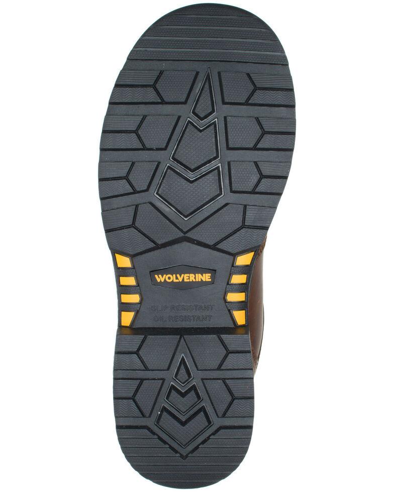 Wolverine Men's Hellcat Ultraspring Work Boots - Soft Toe, Brown, hi-res
