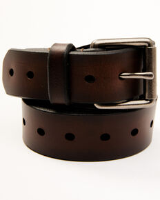 Levi's Men's Casual Brown Roller Buckle Belt, Brown, hi-res