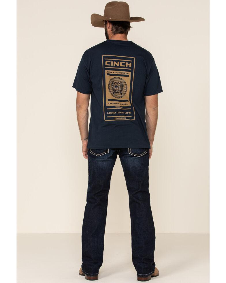 Ariat Men's M5 Memphis Dark Stackable Slim Straight Jeans , Blue, hi-res