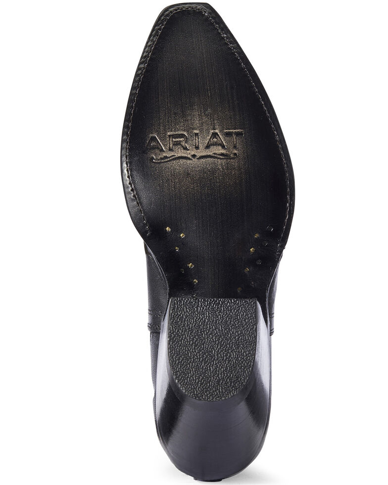 Ariat Women's Black Dixon Studded Fashion Booties - Snip Toe, Black, hi-res