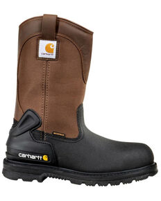 """Carhartt 11"""" Insulated Brown Work Boots - Composite Toe, Brown, hi-res"""