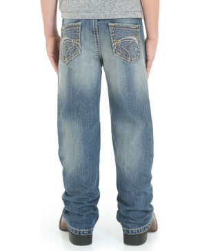 Wrangler Rock 47 Slim Fit Techno Denim Jeans- 4-7, Denim, hi-res