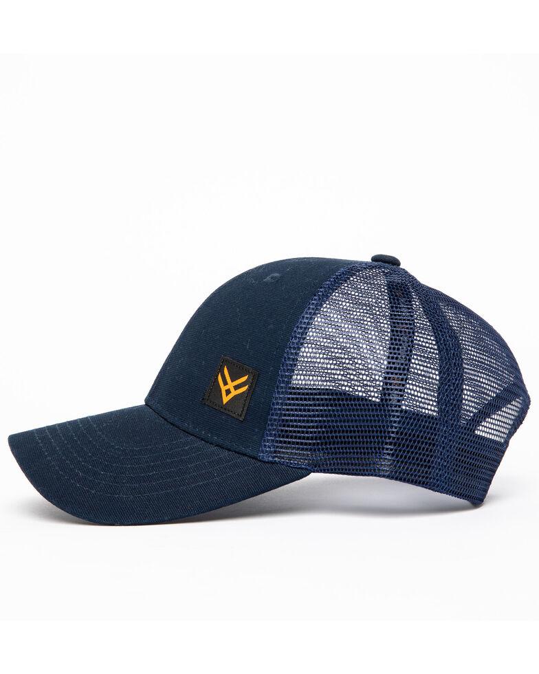 Hawx Men's Small Corner Logo Patch Cap , Navy, hi-res