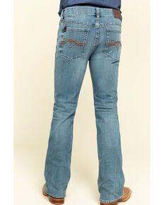 Cody James Core Men's Scorline Performance Stretch Slim Bootcut Jeans , Blue, hi-res