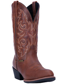 Laredo Men's Rust Mick Western Boots - Round Toe, Rust Copper, hi-res