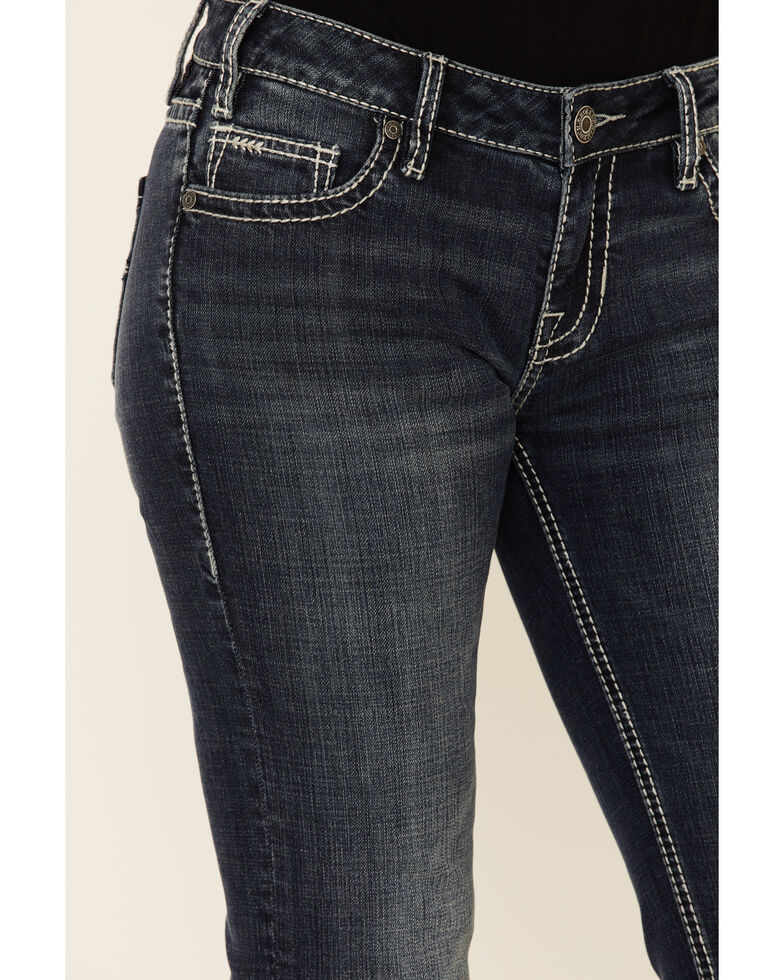 Rock & Roll Denim Women's Rival Bootcut Jeans, Blue, hi-res