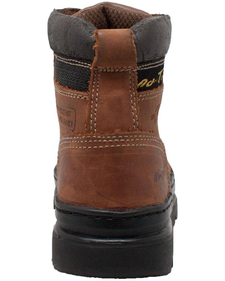 """Ad Tec Women's Brown 6"""" Work Boots - Steel Toe, Brown, hi-res"""