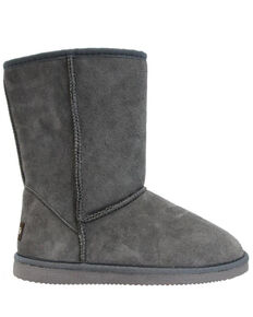 Lamo Footwear Women's Classic Grey Boots - Round Toe, Steel, hi-res