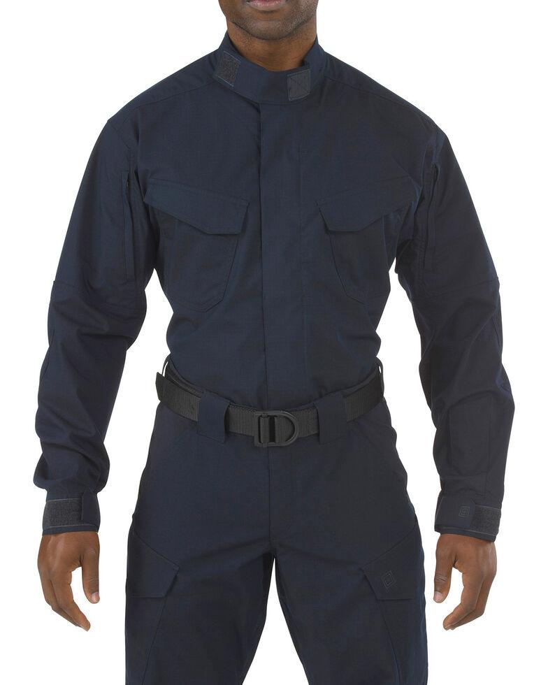5.11 Tactical Stryke TDU Long Sleeve Shirt - 3XL, Navy, hi-res