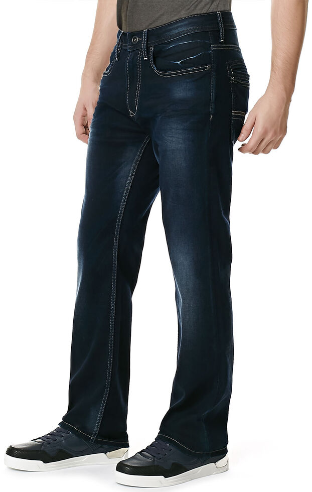 Buffalo Men's Game-X Slim Bootcut Jeans, Denim, hi-res