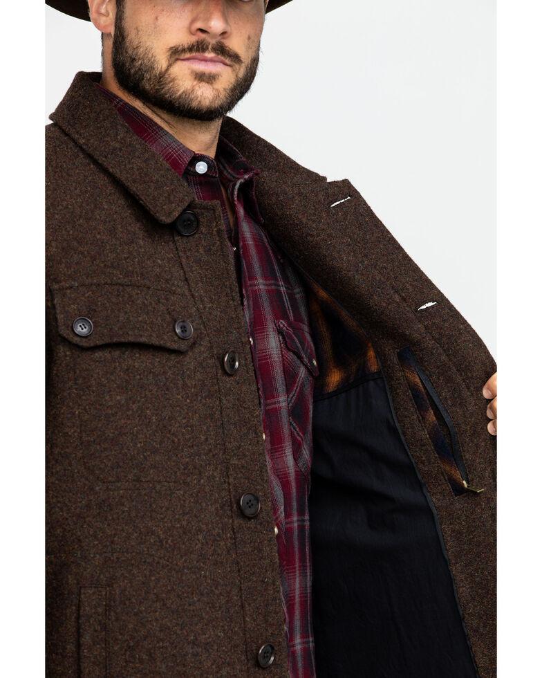 Pendleton Men's Mahogany Capitol Hill Button Front Shirt Jacket , Brown, hi-res