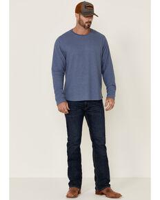 Dakota Grizzly Men's Lewis Solid Thermal Long Sleeve Shirt , Blue, hi-res