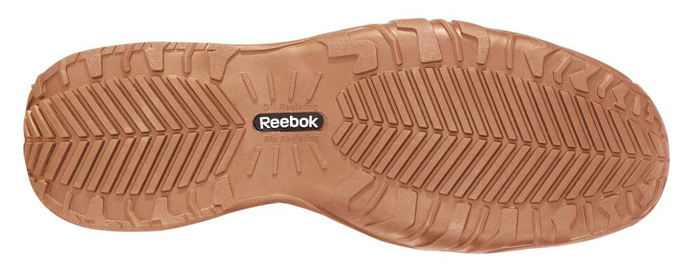 Reebok Women's Bema Eurocasual Work Shoes - Composite Toe, Brown, hi-res