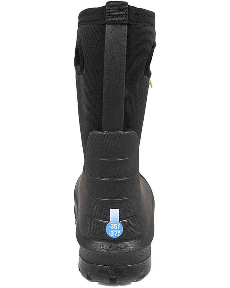 Bogs Boys' Neo Classsic Black Outdoor Boots - Round Toe, Black, hi-res