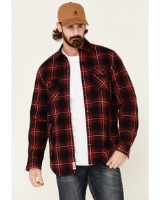 Flag & Anthem Men's Bondsville Plaid Sherpa Lined Shirt Jacket , Multi, hi-res
