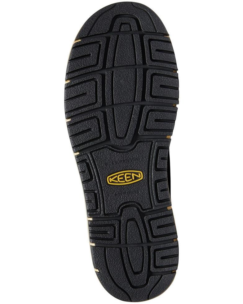 Keen Men's San Jose Waterproof Work Boots - Aluminum Toe, Brown, hi-res