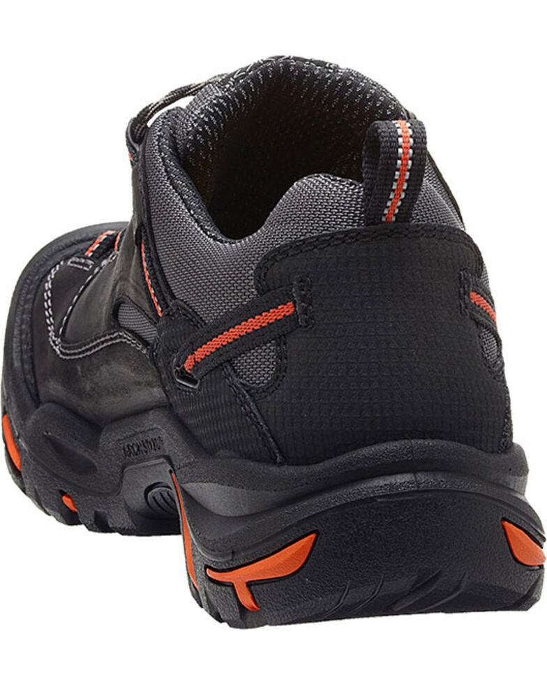 Keen Men's Braddock Low EH Shoes - Steel Toe, Black, hi-res