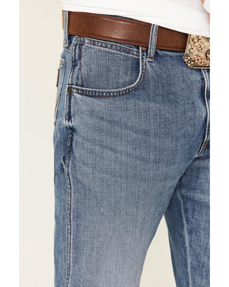 Wrangler Retro Men's Linville Light Stretch Slim Straight Jeans - Long , Blue, hi-res