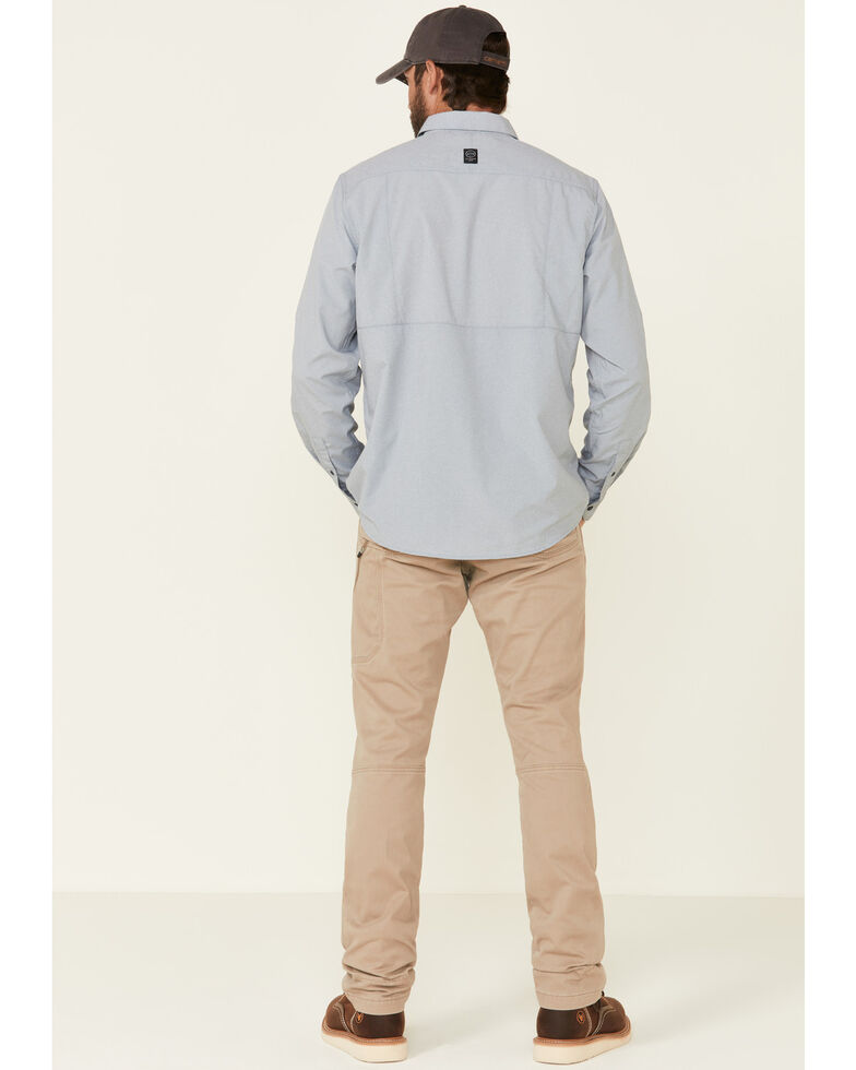 Wrangler All-Terrain Men's Elmwood Khaki Reinforced Utility Work Pants , Tan, hi-res