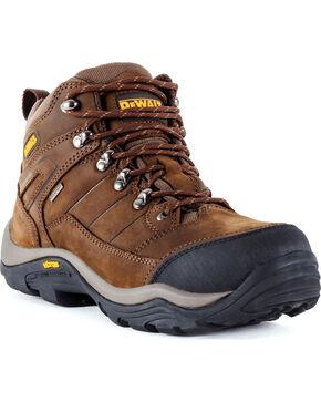 DeWalt Men's Neon Hybrid Waterproof Boots - Steel Toe, Brown, hi-res