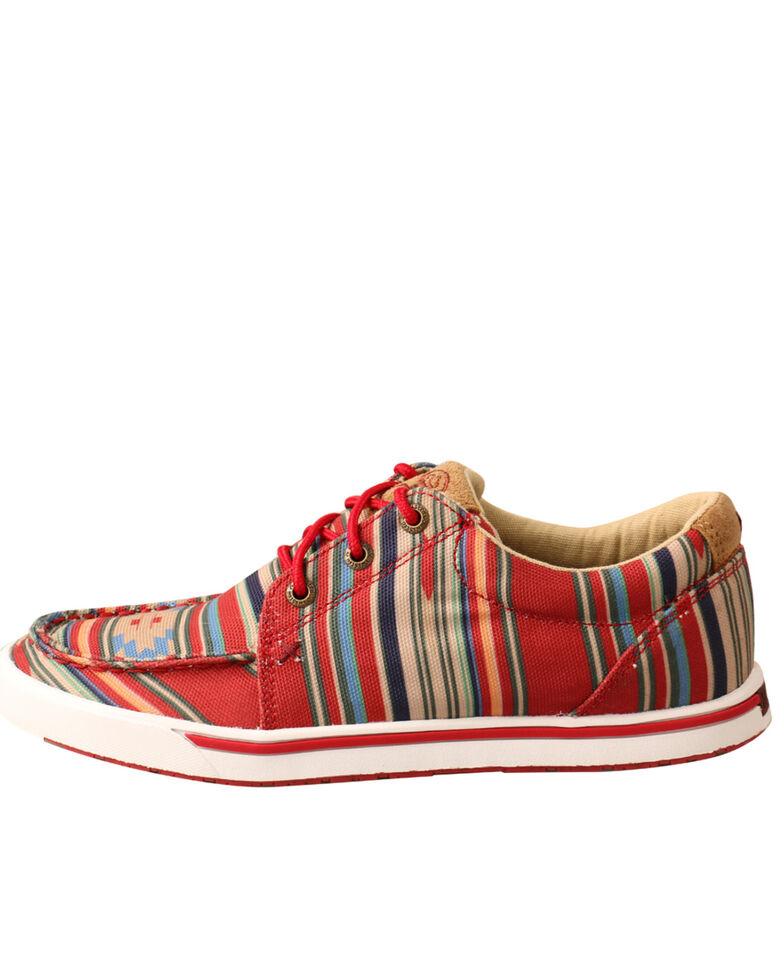 Twisted X Women's HOOey Loper Shoes - Moc Toe, Multi, hi-res
